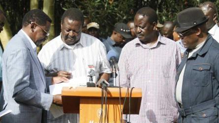 NASA: We will explore laws to make Raila our President