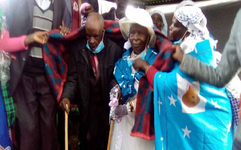 Never too old for love: Man, 110, renews vows with wife of 70 years