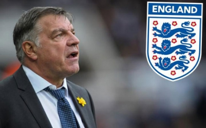 New England coach Sam Allardyce names squad that will face Slovakia in World Cup qualifier