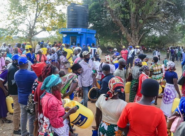 New lease of life as Mozzart Bet commissions another water well in Makueni