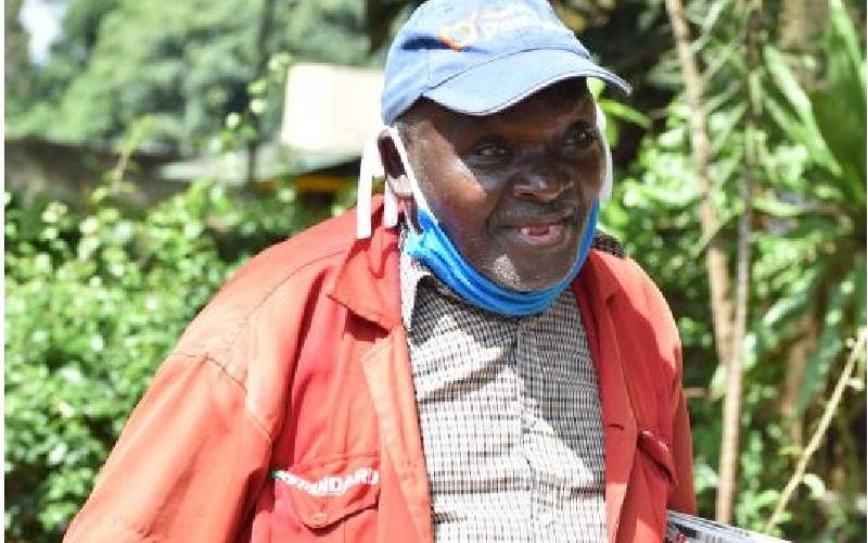 Newspaper vendor who has sold for more than 50 years shares his story
