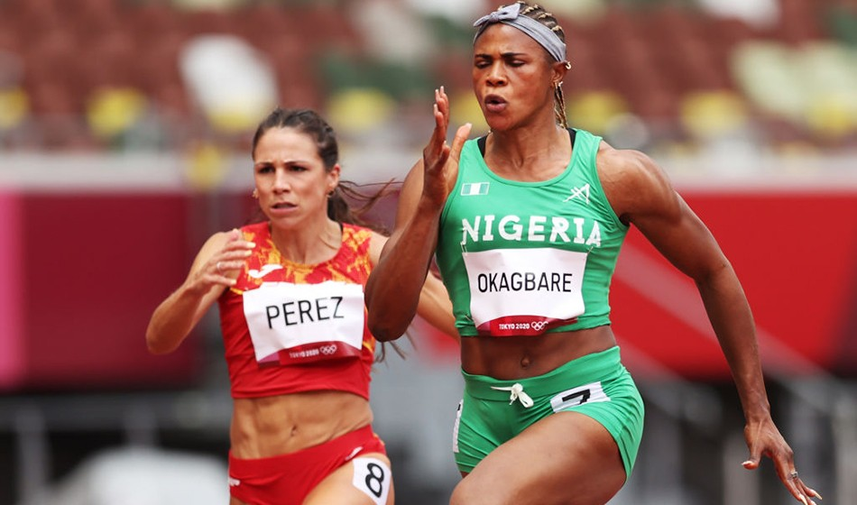 Nigerian sprinter Okagbare out of Tokyo Games after failing drugs test