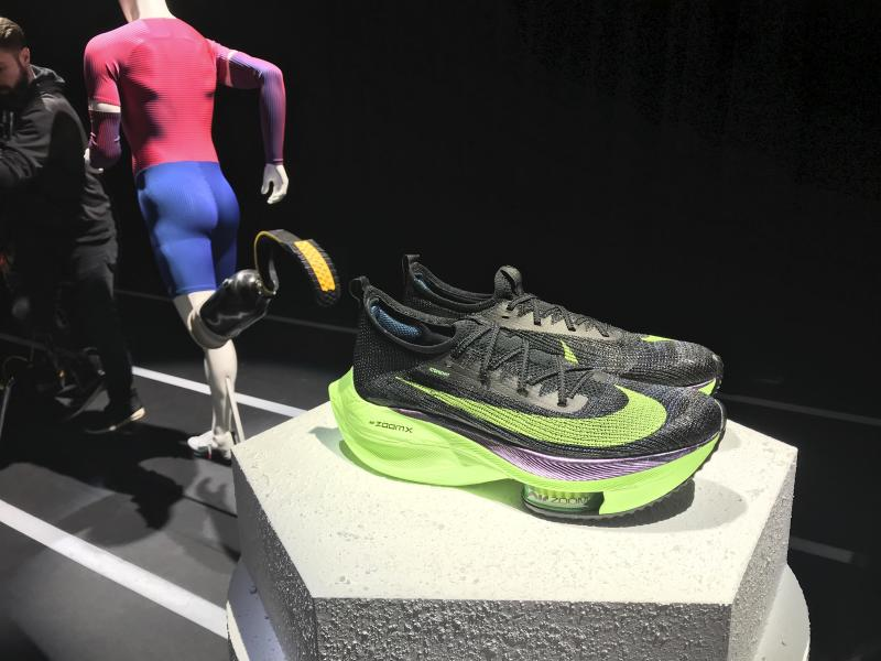 Nike's rivals play catch-up in marathon shoe battles