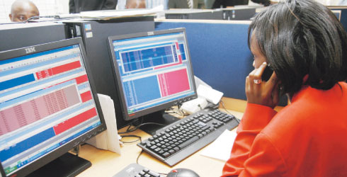 NSE's index hit historic 5,000 mark buoyed by foreign buys