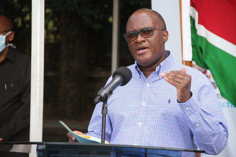 Nyeri leaders rally behind CS James Macharia over plot to kick him out of office