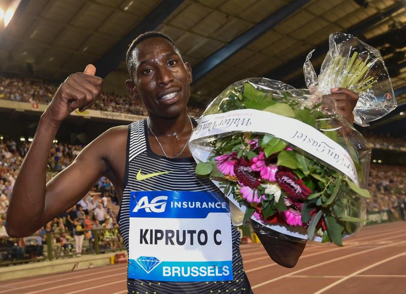 Olympic champion Conseslus Kipruto tests positive for Covid-19