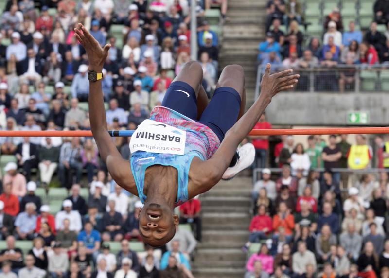 Olympic silver medallist Barshim says Kenya has talent in high jump