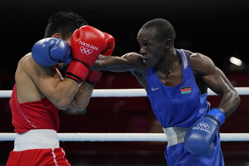 Olympics: Boxer Nick Okoth breaks silence after loss to Mongolia's Erdenebatyn