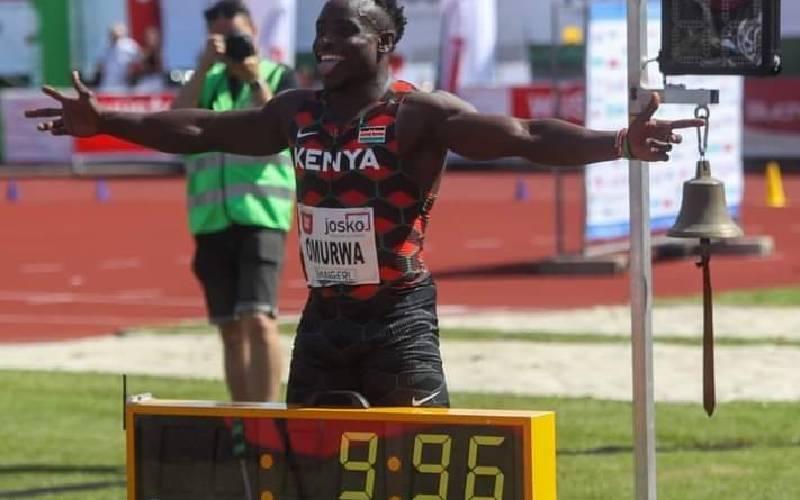 Omanyala sets new 100m national record in Austria