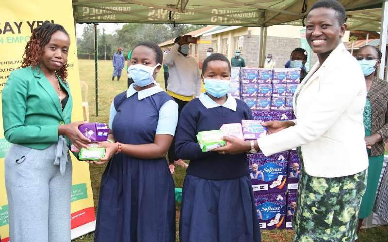 One million sanitary pads to fight period poverty, shaming
