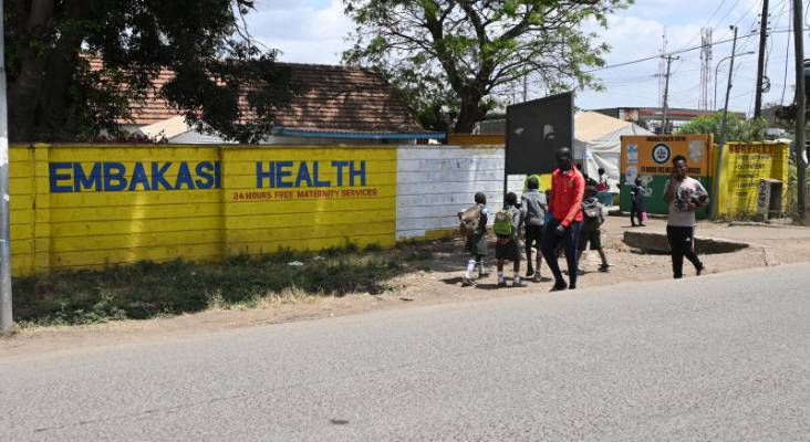 Patients' agony as sewage keeps them off city hospital