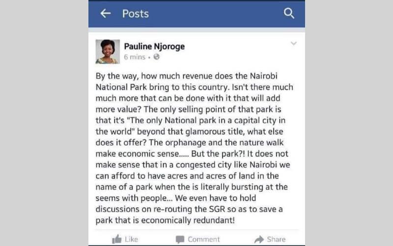 Pauline Njoroge Tourism board job revoked