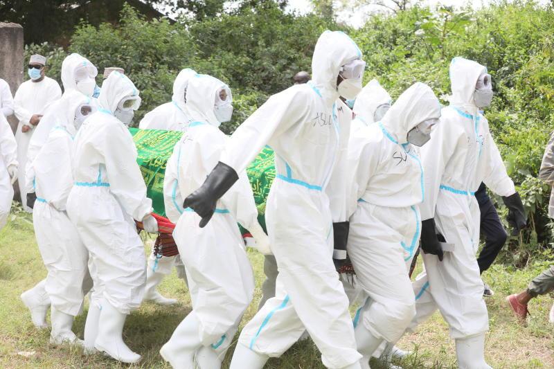 Politician Kajembe buried as two of his children taken ill