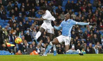Premier League: Iheanacho sends Man City top, Palace up to sixth