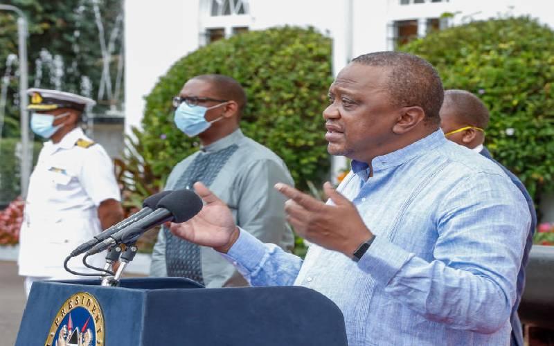 President Uhuru extends curfew, lockdown by 30 days