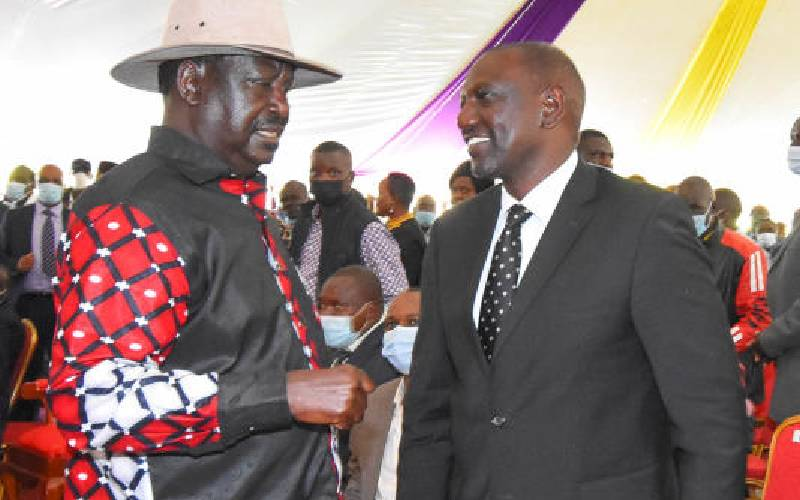 Raila, Ruto political clout a factor in 2022 succession