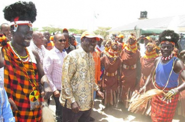 Raila says powerful forces in Jubilee government fighting devolution