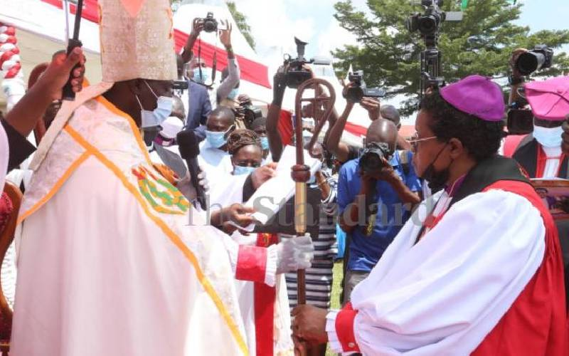 Reflections on the first Anglican female bishop Rev Rose Okeno