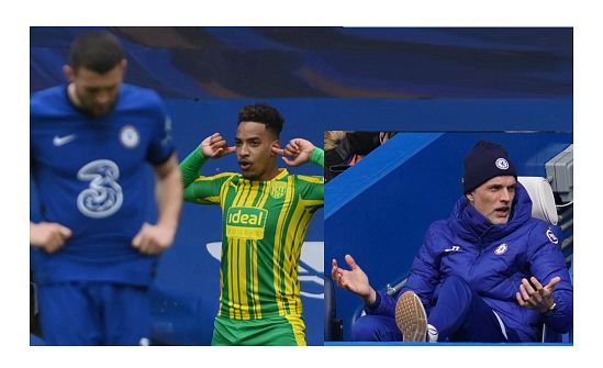 Relegation-threatened West Brom beat Chelsea 5-2 at Stamford Bridge