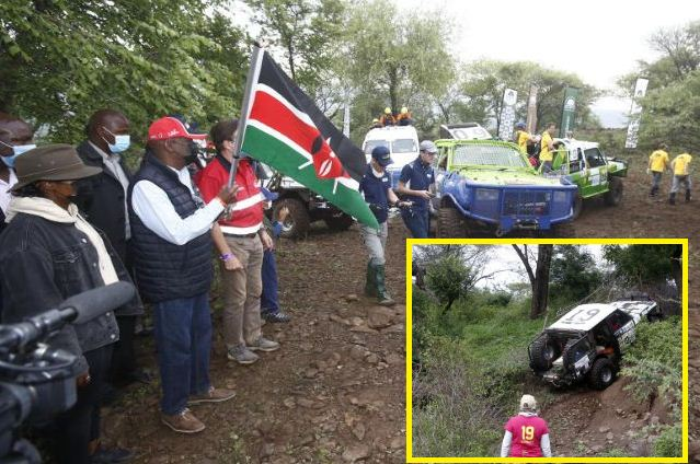 Rhino Charge: Gideon flags off 32nd off-road motorsport targeting to raise Sh100m conservation funds