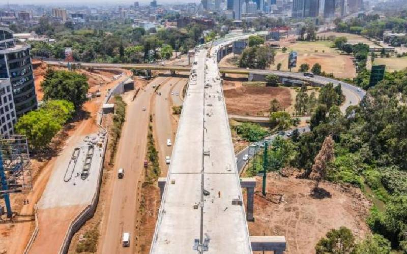 Road projects around Nairobi near completion