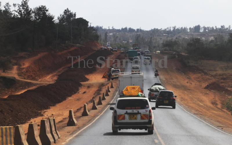 Road projects to be completed on time, says CS James Macharia