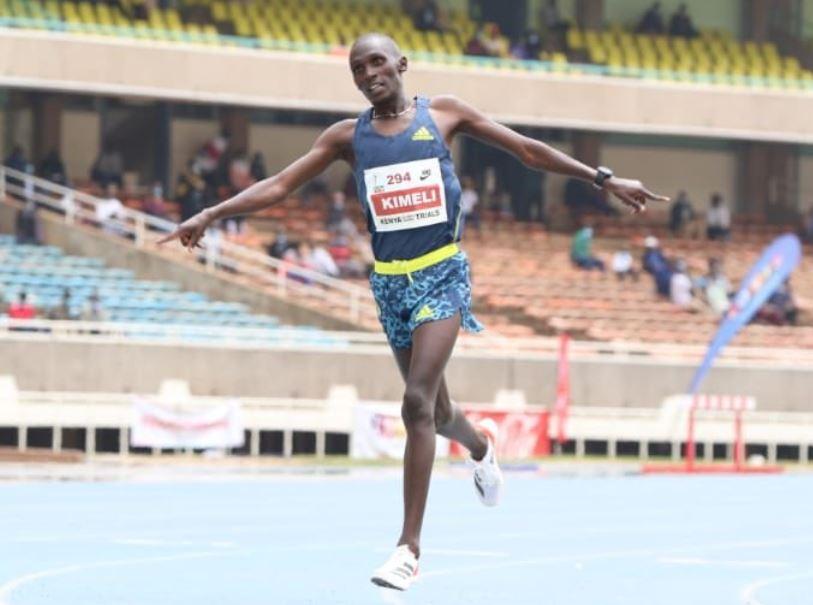 Rookies Kimeli, Simiu pick men's 5000m Olympic spots