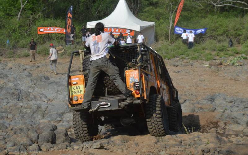 Rumble in the jungle as Rhino Charge sweeps across Sabor