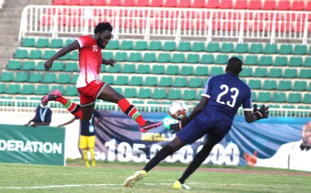 Rupia's Harambee Stars goal sinks South Sudan at Nyayo Stadium