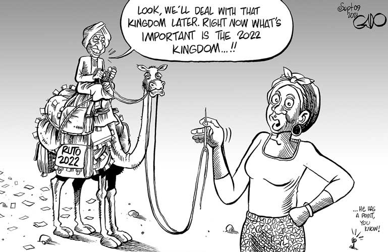 Ruto and the 2022 kingdom