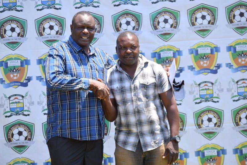Sammy Okoth resigns as Vihiga United coach