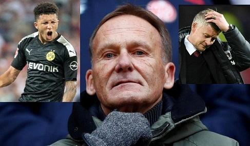 Sancho going nowhere, says Dortmund chief Watzke