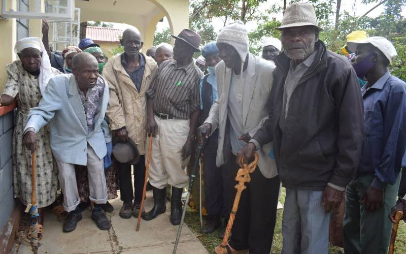 Save us from agents eating our stipend, the elderly tell state