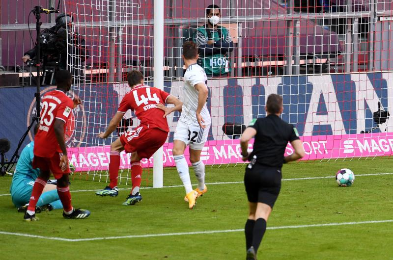 Bayern stumble to 1-1 draw versus Union