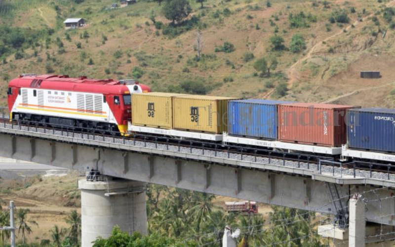 SGR cargo drops on fewer vessels at Mombasa port