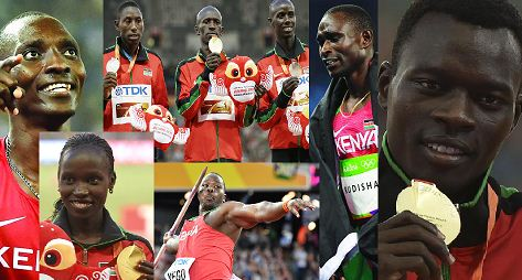 Squad that shot Kenya to the top of World Athletics show