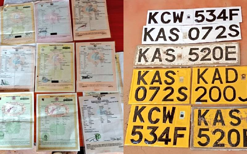 Suspect behind car theft syndicate arrested in Kitale, seven cars recovered: The Standard