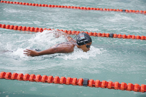 Mombasa-based swimmer shatters eight national records at the Coast Open