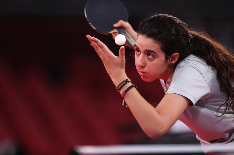 Table Tennis: 12-year-old, Tokyo Games' youngest competitor, exits in first round