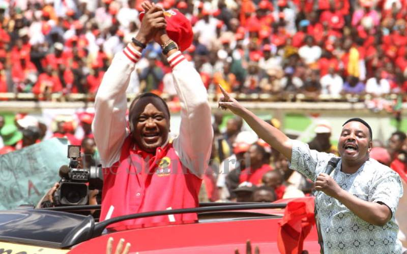 Tano Tena: Githae vows to sing for Uhuru's pick in 2022 succession race