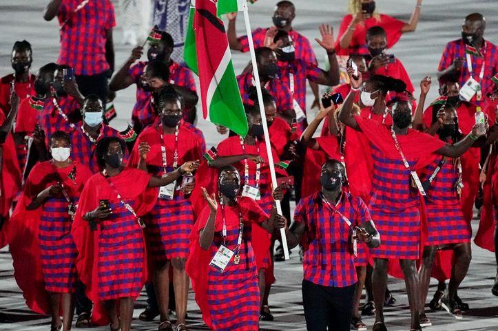 Team Kenya wins Kurume City hearts as Ceremonial kit voted one of the best