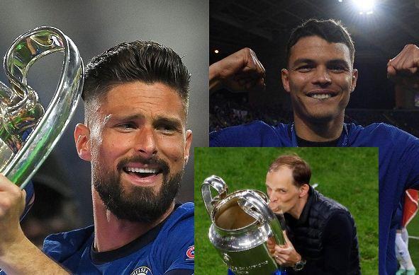 Thiago Silva, Olivier Giroud join Thomas Tuchel in extending Chelsea contracts