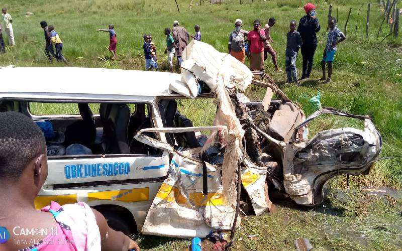 Five killed in Londiani road accident