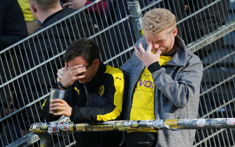 Borussia Dortmund give up on trophy after painful derby defeat