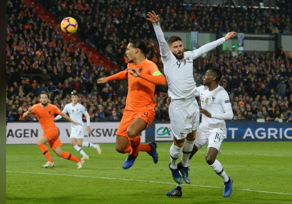 Dutch delight in win over France, Germany relegated