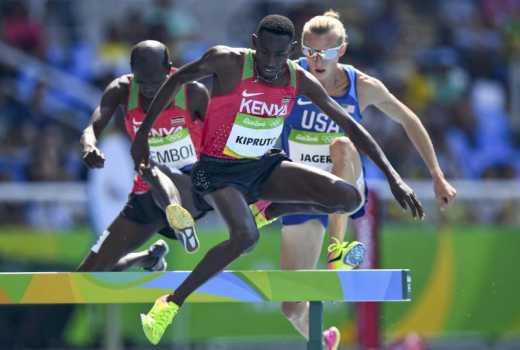 Kenyan athletes clash in Glasgow