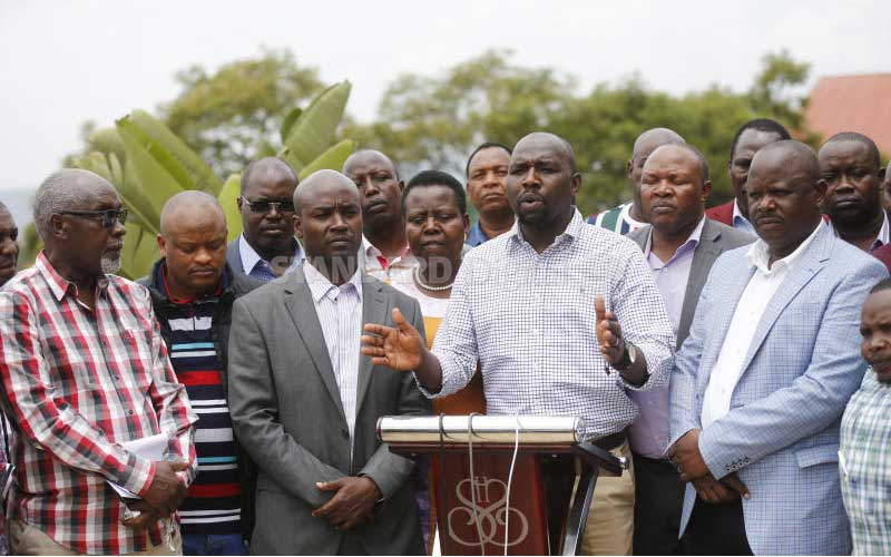 Leaders say Mau settlers occupy county trust land