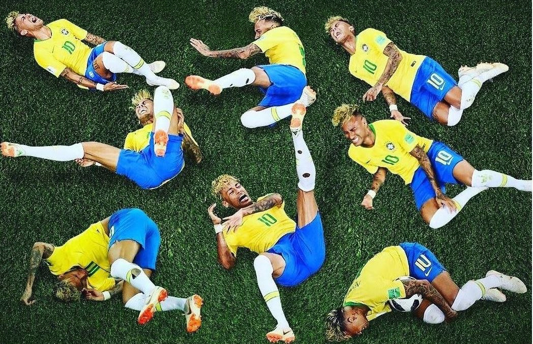 Neymar defends his diving for Brazil at World Cup
