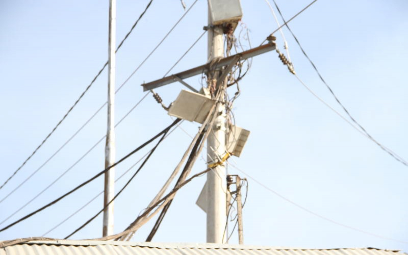 'We know they're illegal, risky power lines, but we need light'