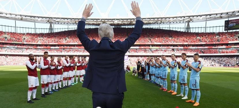 Wenger sends powerful message to Arsenal